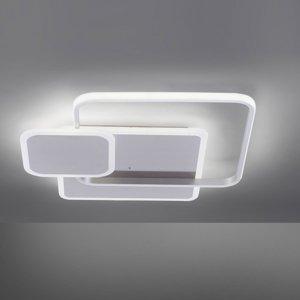Paul Neuhaus Stropné LED Emilio s diaľkovým ovládaním, hranaté