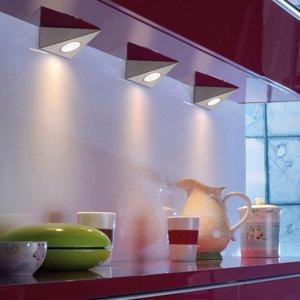 Paul Neuhaus Podhľadové LED Amon CCT, súprava 3 ks, trojuholník