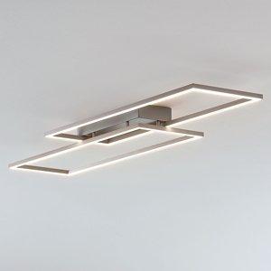Lucande Stropné LED svietidlo Quadra stmievateľné 2pl 83,6