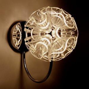 QisDesign Guľovité nástenné LED svietidlo Coral