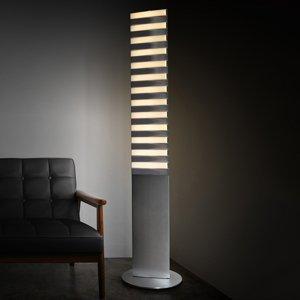 QisDesign Stojaca LED lampa Piano