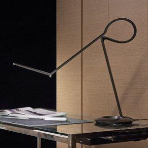 QisDesign Všestranná dizajnérska stolná LED lampa Compasso