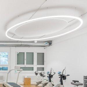 REGENT LIGHTING Regent Wiggle svetelná lišta DALI Ø300 288W 4000K