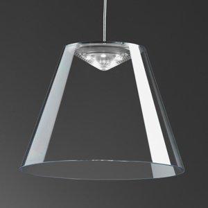 Rotaliana Rotaliana Dina – priehľadné závesné LED svietidlo