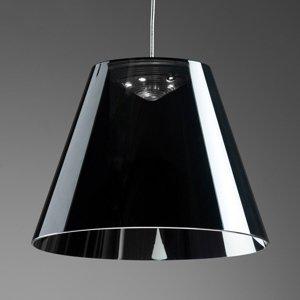 Rotaliana Rotaliana Dina – čierne závesné LED svietidlo