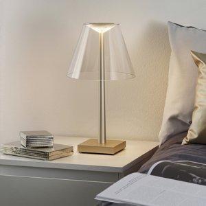 Rotaliana Rotaliana Dina+ T1 stolná aku LED lampa bronzová