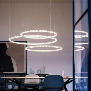 Rotaliana Rotaliana Squiggle H1 závesné LED biele Ø 69cm