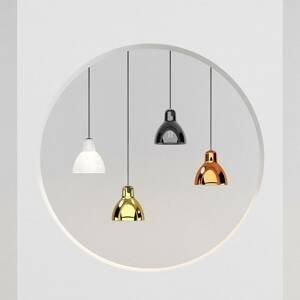 Rotaliana Rotaliana Luxy H5 Glam závesná lampa čierna/zlatá