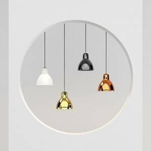 Rotaliana Rotaliana Luxy H5 Glam závesná lampa čierna/meď