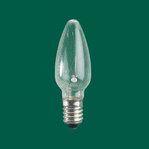 Rotpfeil E10 náhradné žiarovky tvar sviečky 3W 12V sada 3ks