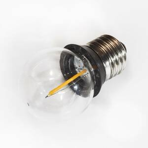 Rotpfeil E27 0,9W COB-LED kvapková žiarovka tesniaci krúžok