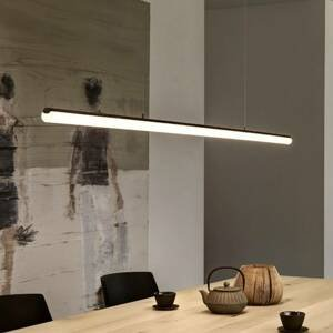 Ribag Ribag Aroa LED kyvadlo DALI dim 2700K čierne 120cm