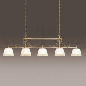 RIPERLamP Textilná závesná lampa Sopia 5-plameňová
