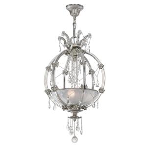 RIPERLamP Krištáľová závesná lampa Trina