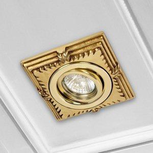 RIPERLamP Zapustené LED Downlight Katia zlatá angl. patina