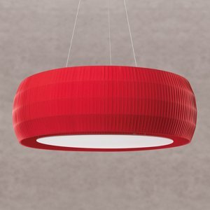 Ridi Červené LED závesné svietidlo Maxi Wheel