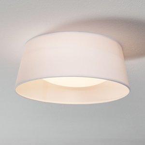Reality Leuchten Biele textilné stropné svietidlo Ponts diódy LED