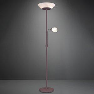 Reality Leuchten Stojaca lampa Gerry vo farbách hrdze