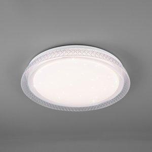 Reality Leuchten Stropné LED svietidlo Heracles tunable white Ø38cm