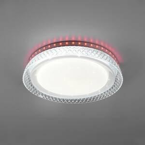 Reality Leuchten Stropné LED svietidlo Thea, RGB, CCT, stmievateľné