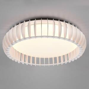 Reality Leuchten Stropné LED svietidlo Monte, CCT, Ø 60cm, biela