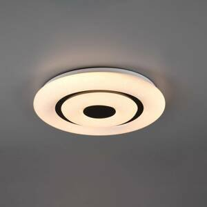 Reality Leuchten Stropné LED svietidlo Rana, RGB, CCT, WiZ, Ø 40cm