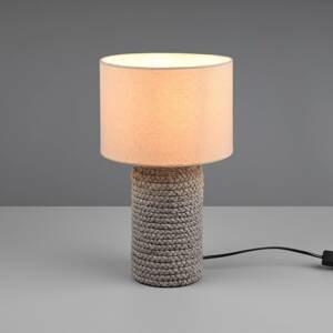 Reality Leuchten Stolná lampa Mala z keramiky, Ø 22cm
