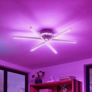 Lindby Lindby Lansson stropné LED RGB svietidlo, 3-pl.