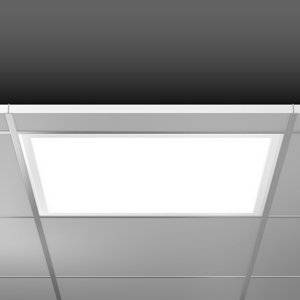 BEGA RZB Sidelite Eco LED panel DALI 62,2cm 29W 840