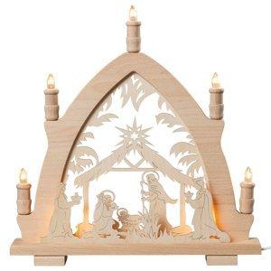Saico Vianočný svietnik Narodenie Krista