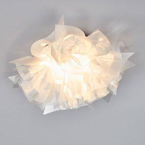 Slamp Slamp Veli Prisma, dizajnová stropná lampa Ø 53 cm