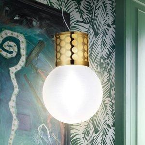 Slamp Slamp Atmosfera závesná lampa, Ø 30cm, zlatá