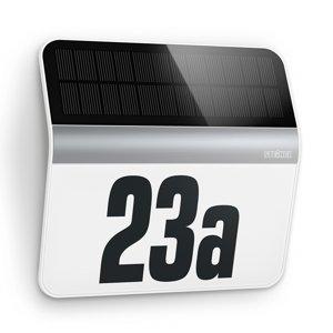 STEINEL STEINEL XSolar LH-N LED, číslo, ušľachtilá oceľ
