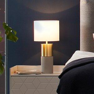 Villeroy & Boch Villeroy & Boch Turin stolná lampa, betón 33 cm