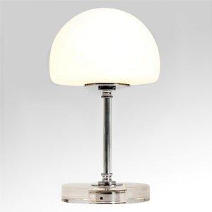 Steinhauer BV Ancilla – pochrómovaná stolná LED lampa, stmievač