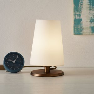 Steinhauer BV Ancilla stolná lampa s dotykovým stmievačom bronz