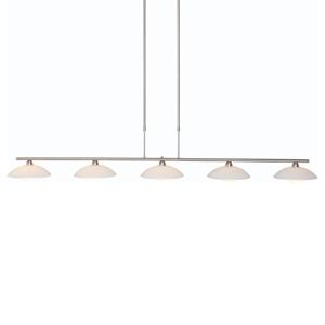 Steinhauer BV LED závesné svietidlo Monarch 5-pl. stmievateľné