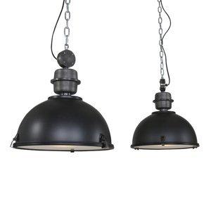 Steinhauer BV Závesná lampa Bikkel 2-plameňová, čierna