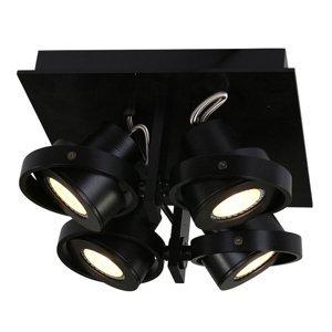 Steinhauer BV Stropné LED svietidlo Westpoint 4-pl. čierne