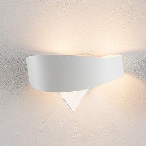 Selene Biele dizajnové nástenné svietidlo Scudo