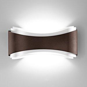 Selene Nástenné LED svietidlo Ionica z ocele, bronz