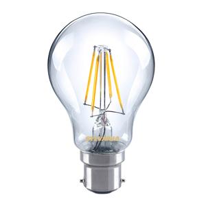 Sylvania B22 4W 827 LED filament žiarovka, číra