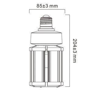 Sylvania Sylvania LED žiarovka E27, 36W, 4000K, 4500lm