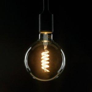 Segula SEGULA LED E27 8W G125 Curved ambient číra