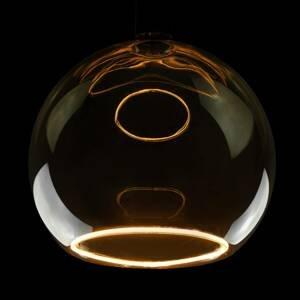Segula SEGULA LED floating globe G300 E27 12W dymová sivá