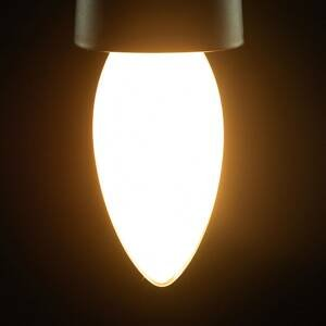 Segula SEGULA sviečková LED žiarovka E14 4,5W 827 matná