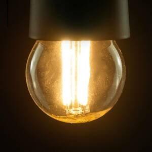 Segula SEGULA LED žiarovka E27 G45 827 filament číra