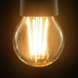 Segula SEGULA LED žiarovka E27 8,5W 827 filament číra