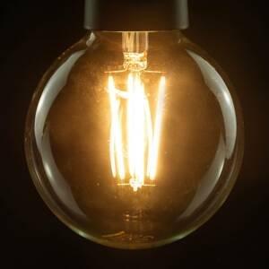 Segula SEGULA LED globe G95 E27 8,5W 827 filament číra