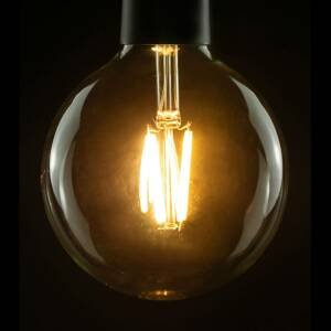 Segula SEGULA LED žiarovka globe G120 E27 10W 827 číra